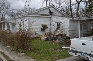 This is the house in question from the WKRC story on Grant Street